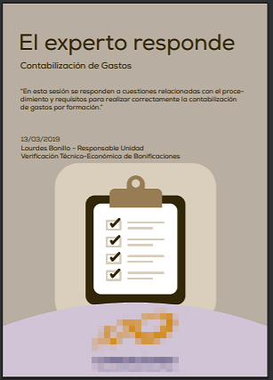 PDF Los expertos responden de Fundae