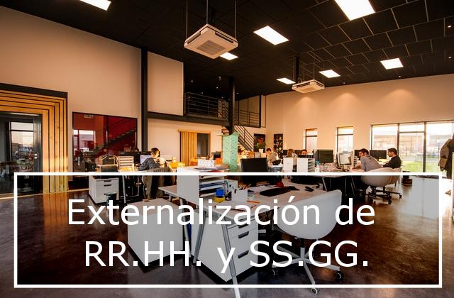 Ventajas de externalizar funciones de RR.HH. y SS.GG.