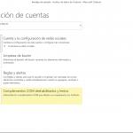 Configurar una cuenta de correo en Outlook 2013