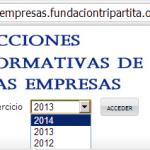 Actualización de la cuota de formación profesional y plantilla de las empresas