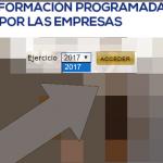 Actualizada la cuota de formación profesional y plantilla de las empresas para 2017