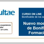 Curso online: Nuevo modelo de Gestión de Bonificaciones por Formación Continua