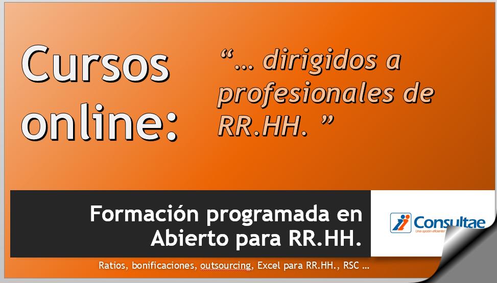 Cursos online abiertos para profesionales de RRHH