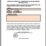 Cómo solicitar el certificado de estar al corriente con la obligaciones de la AEAT y de la Seguridad Social