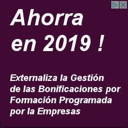 Bonificación formación continua 2019
