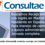 Servicio de recepcionistas: Ofertas de empleo recepcionista Madrid