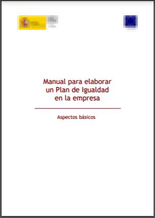 Manual para elaborar un Plan de Igualdad en la empresa del Instituto de la mujer