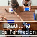 Auditorías gestión de planes de formación organizada por las empresas