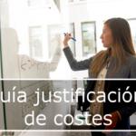 Guía justificación de costes para la formación programada