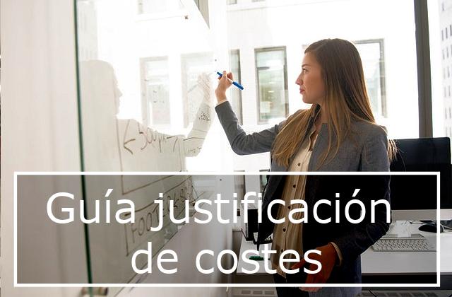 Guía justificación de costes Fundae