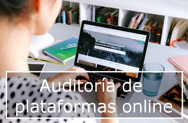 Auditoría de plataformas online