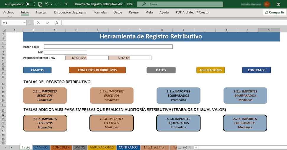Excel: Herramienta de Igualdad Retributiva